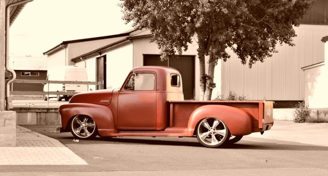 Chevrolet Old School Pickup